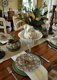 Simple Thanksgiving Table Settings A Simple Thanksgiving Tablescape