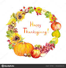 Uva Thanksgiving Guirnalda De Acción De Gracias Frutas Hojas De Verduras