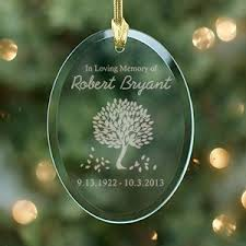 engraved glass ornaments