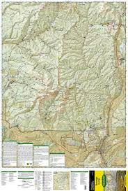 Topographical Map Of Colorado by Durango Cortez National Geographic Trails Illustrated Map