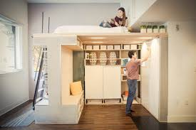 make the most of a small space with this multifunctional loft