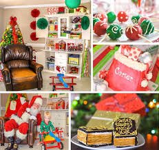 santa s workshop themed birthday with lots of really