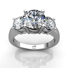 brilliant diamond rings images Shop three stone pre set online union diamond jpg