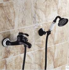 rozin oil rubbed bronze bathtub faucet wall mount mixer tap with