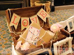 travel themed table decorations photo album viewing table decoration wedding sweet love pearls