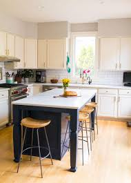white kitchen cabinets with gold countertops white kitchen remodel our white and gray kitchen on a budget