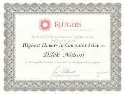 Rutgers Resume Cs Honors Jpg