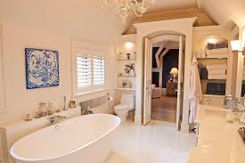 Bathrooms With Freestanding Tubs Traditional Master Bathroom With Freestanding Bathtub By Connell