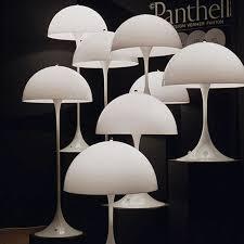 Reading Lamps Panthella Floor Reading Lamp Louis Poulsen Stardust