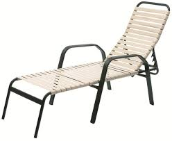 Chaise Lounge Chair With Arms Strap Furniture