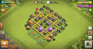 best of clash of clans clash of clans town hall 5 base layout best farming defense