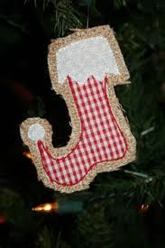 sec burlap ornament by theswankyelephant on etsy 8 00