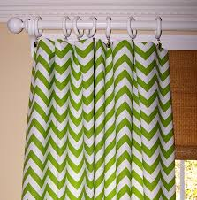 Yellow White Chevron Curtains Wall Decor Black And White Chevron Curtains With Tan Wall And