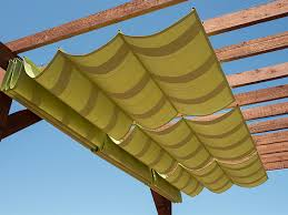 How To Build A Awning Over A Deck How To Make A Slide On Wire Hung Canopy Video Sailrite