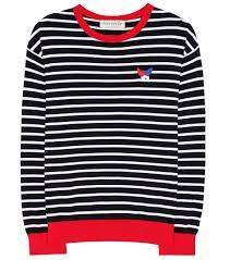 sweater brands être cécile striped sweater blue white largest fashion store