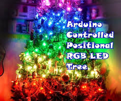 arduino controlled positional rgb led christmas tree 6 steps