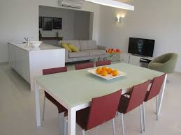 marina apartment open plan living full of natural light and