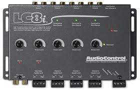 audiocontrol lcq 1 white 6 channel equalizer line output converter