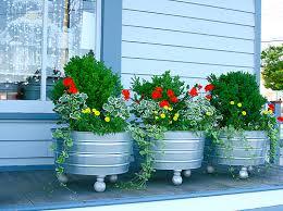 Front Porch Planter Ideas by 17 Pretty Planter Ideas Beneath My Heart