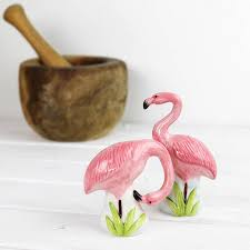 Cute Salt And Pepper Shakers by Flamingo Salt And Pepper Shakers By Bonnie And Bell