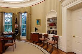 new oval office rug made in west michigan takes center stage in