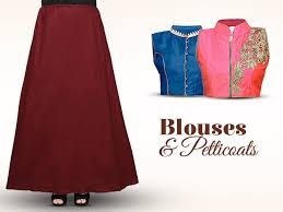 how to make a petticoat blouse and petticoat make or the look of your saree