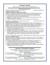 General Resume Example by Resume Template Qualifications General Objective Examples
