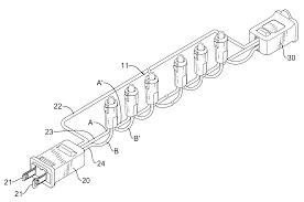 patent us20100296290 led based christmas light string assembly