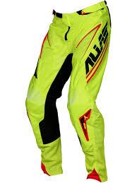 alias motocross gear alias black chartreuse 2017 a1 analogue mx pant alias