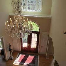 Styles Of Chandeliers Chandelier Outstanding Foyer Crystal Chandeliers Remarkable Home