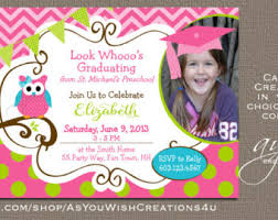kindergarten graduation cards kindergarten graduation invitation preschool graduation