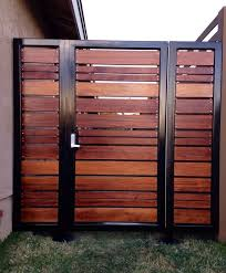 Best  Modern Gates Ideas On Pinterest Aluminium Fencing - Backyard gate designs