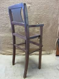 Wooden Doll High Chair Vintage Wooden Doll High Chair U003e Antique Toy Old Dolly Highchair