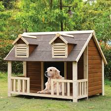 Doghouse For Large Dogs Rufus Large Log Cabin Dog House Outdoor Pet Shelter Cage Kennel