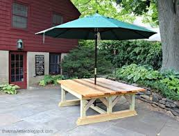 Outdoor Trestle Table Plans Free by