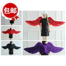 party america halloween costumes aliexpress com buy victoria u0027s angel feather wings for christmas