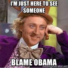 Blame Obama Meme - zos not your fault it happens here some memes while we wait until