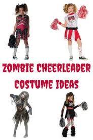 Cheerleading Halloween Costumes Kids Zombie Cheerleader Halloween Zombie Cheerleader