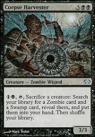 blue black zombies commander edh mtg deck