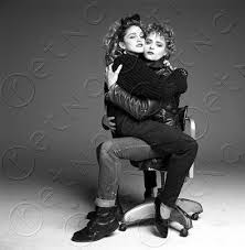 Seeking Cast Flirting With Madonna Desperately Seeking Susan Cast Snaps