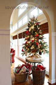 Christmas Tree Decorating Ideas Southern by 158 Best O Christmas Tree Images On Pinterest Merry Christmas