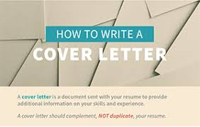 how to write a cover letter u2013 step by step infographic