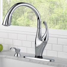 delta two handle lever kitchen faucet with sidespray technical