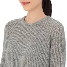 wool sweater muji reclaimed wool s light gray sweater shop cooper hewitt