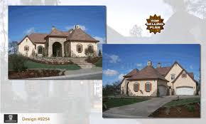 French Country House Plans  Home Designs Design Basics - French country home design