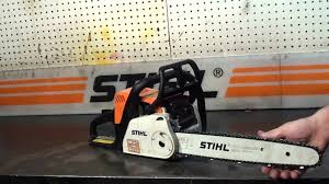 the chainsaw guy shop talk stihl ms 180 chainsaw 8 29 youtube