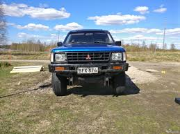 mitsubishi l200 2 5d doublecab 4wd pickup 1991 used vehicle