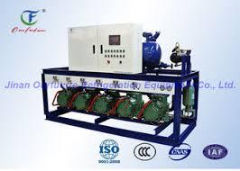 condensation chambre unité de condensation de bitzer d entreposage au froid d ail