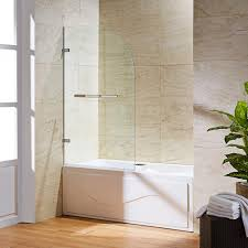 pivot bathtub doors shower doors the home depot orion 34 in x 58 in pivot clear curved tub door in chrome