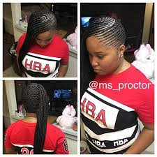 red cornrow braided hair side cornrows dmvhairstylist dmvbraider dmvkidshairstylist